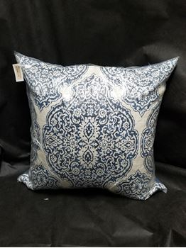 "Picture of Delmonico Pillow Blue 24"" x 24"""