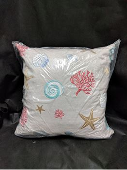"Picture of Beachcomber Pillow Multi Colored 24"" x 24"""