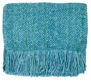 Picture of Throw Blanket Campbell-Aqua