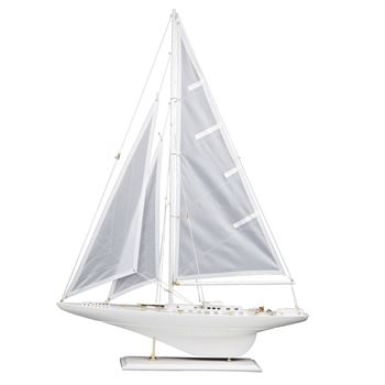 Picture of White Cutter Sail Boat