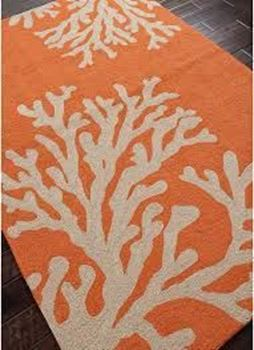 Picture of Grant I-O Bough Out Apricot Orange 2' x3'