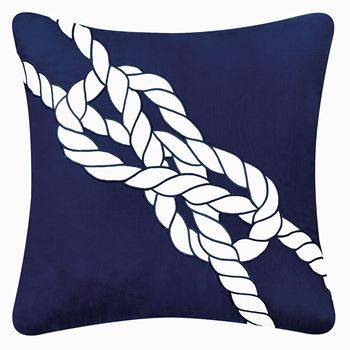 Picture of Nautical Knot Pillow 18 x 18