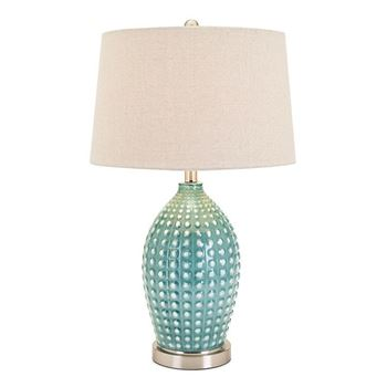 Picture of Adeline Ceramic Table Lamp Blue