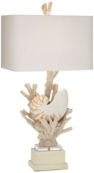 Picture of Shell/Coral Lamp