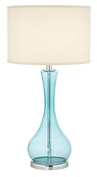 Picture of The Blue Martini Glass Lamp